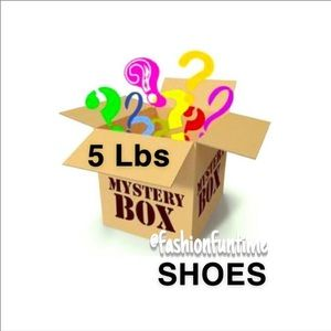 Reseller Women's shoes mystery box 5 shoes for $50